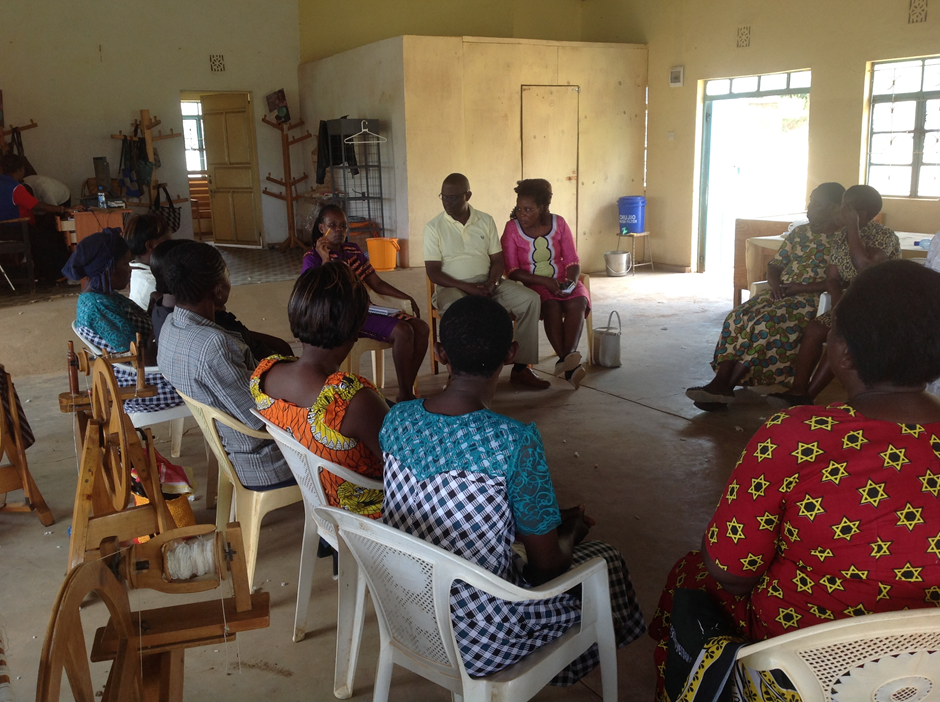 Serious discussion on next steps from the Tosheka team to the Kanyadhiang Women's Cooperative