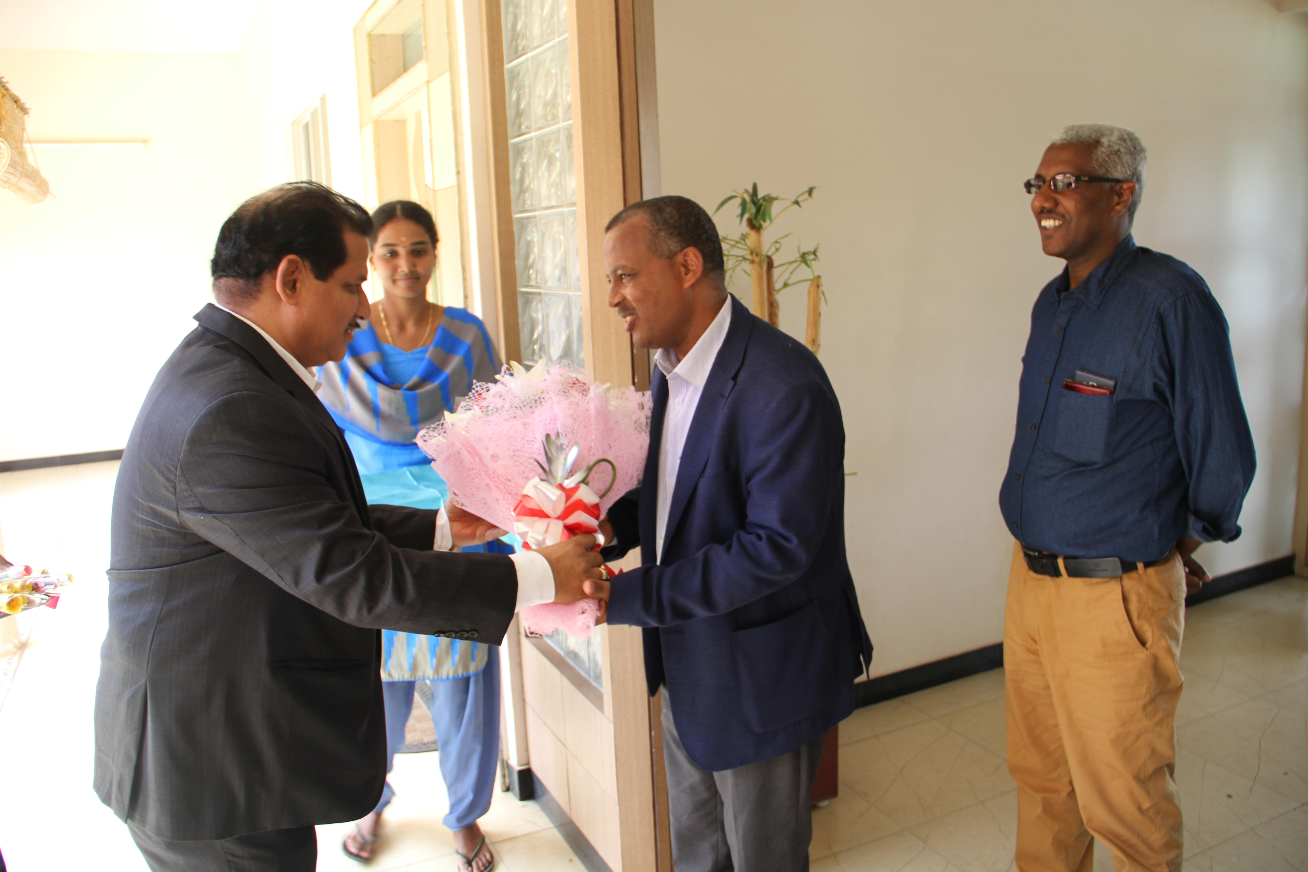 Ethiopian delegation concludes mission in the textile