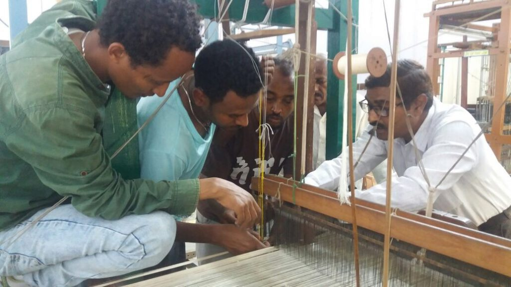 SITA launches Ethiopian handloom spin-off with master